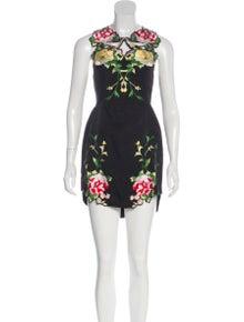 b8d4628f010 Alice McCall. Embroidered Mini Dress