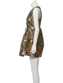 52c96fed25c Alice McCall. Jacquard Cutout Dress