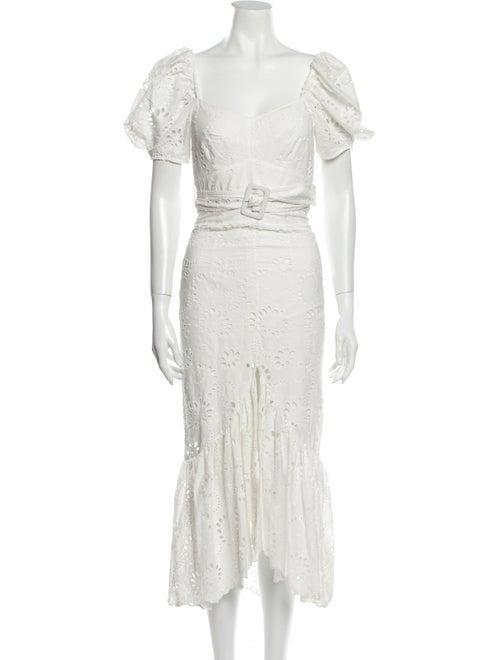 Alice McCall Porcelain Cloud Obscurity Midi Dress