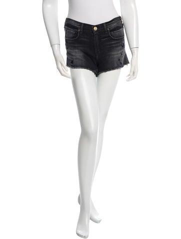 McGuire Denim Distressed Denim Shorts w/ Tags None