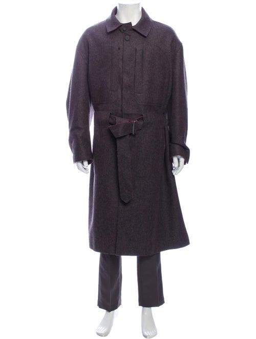 Mackintosh 0003 Coat Purple