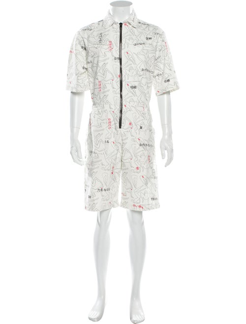 Marcell Von Berlin 2020 Overalls w/ Tags White