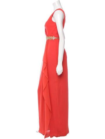 Embellished Silk Dress w/ Tags