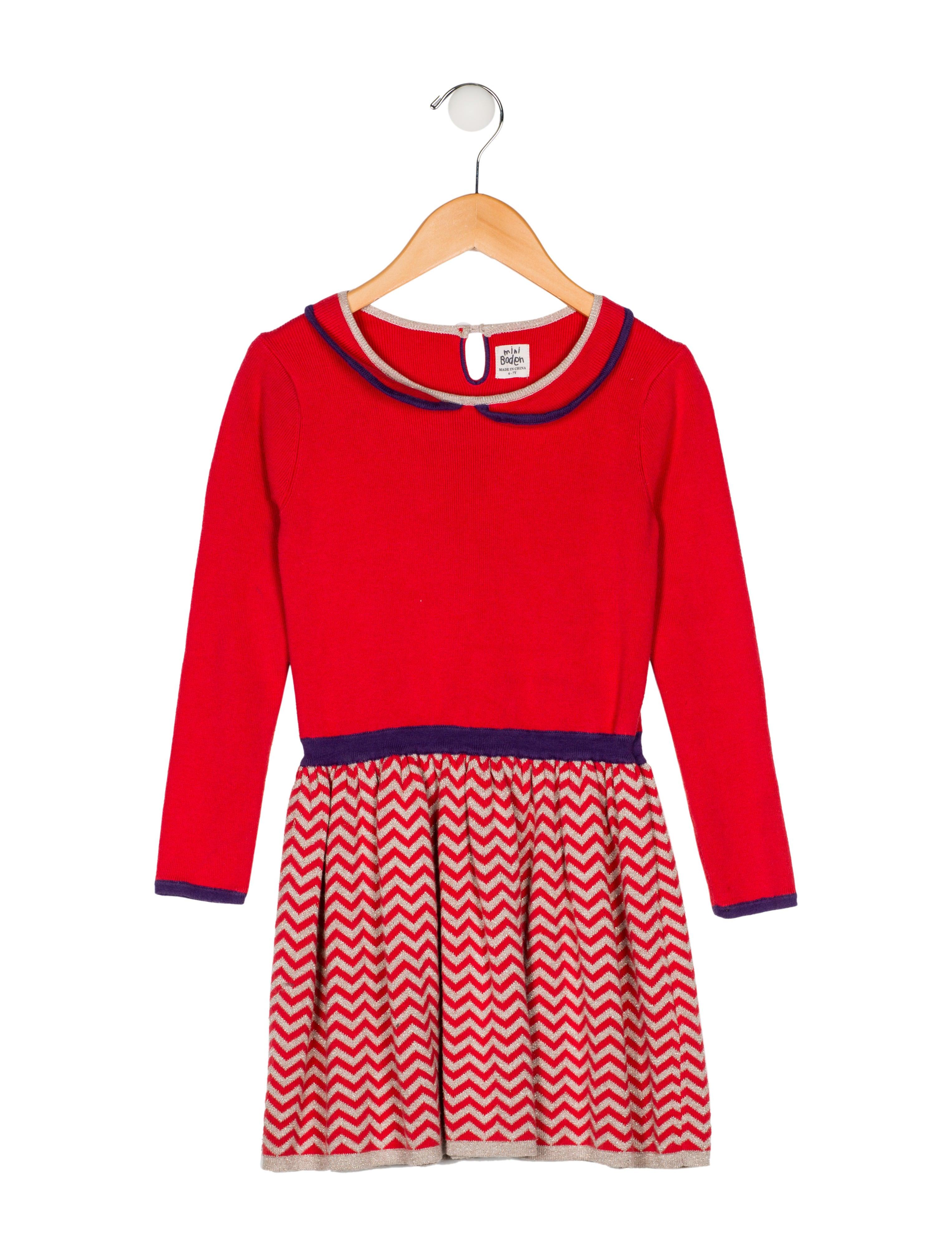 c0f6dffb6fee Mini Boden Girls' Knit Flare Dress - Girls - WMIBB20242   The RealReal