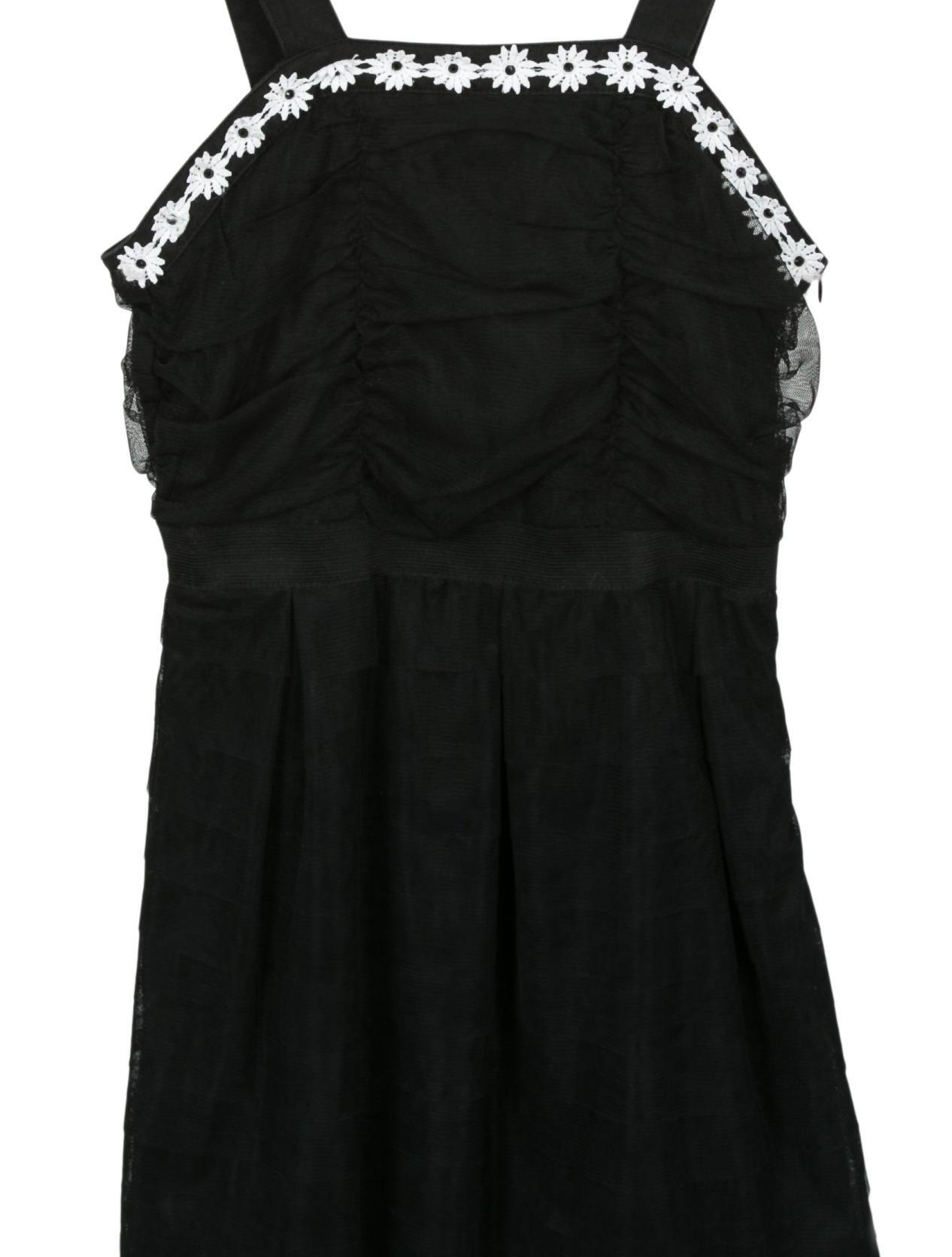 Miss Blumarine Girls' Embellished A-Line Dress