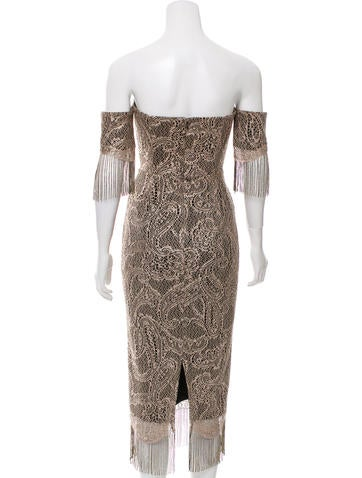 Mirielle Metallic Dress w/ Tags