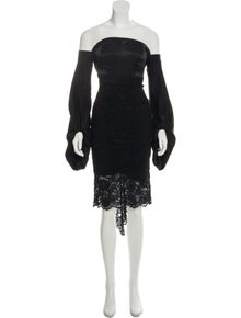 6927c4aa25a Misha Collection. Lace Knee-Length Dress. Size  XS ...