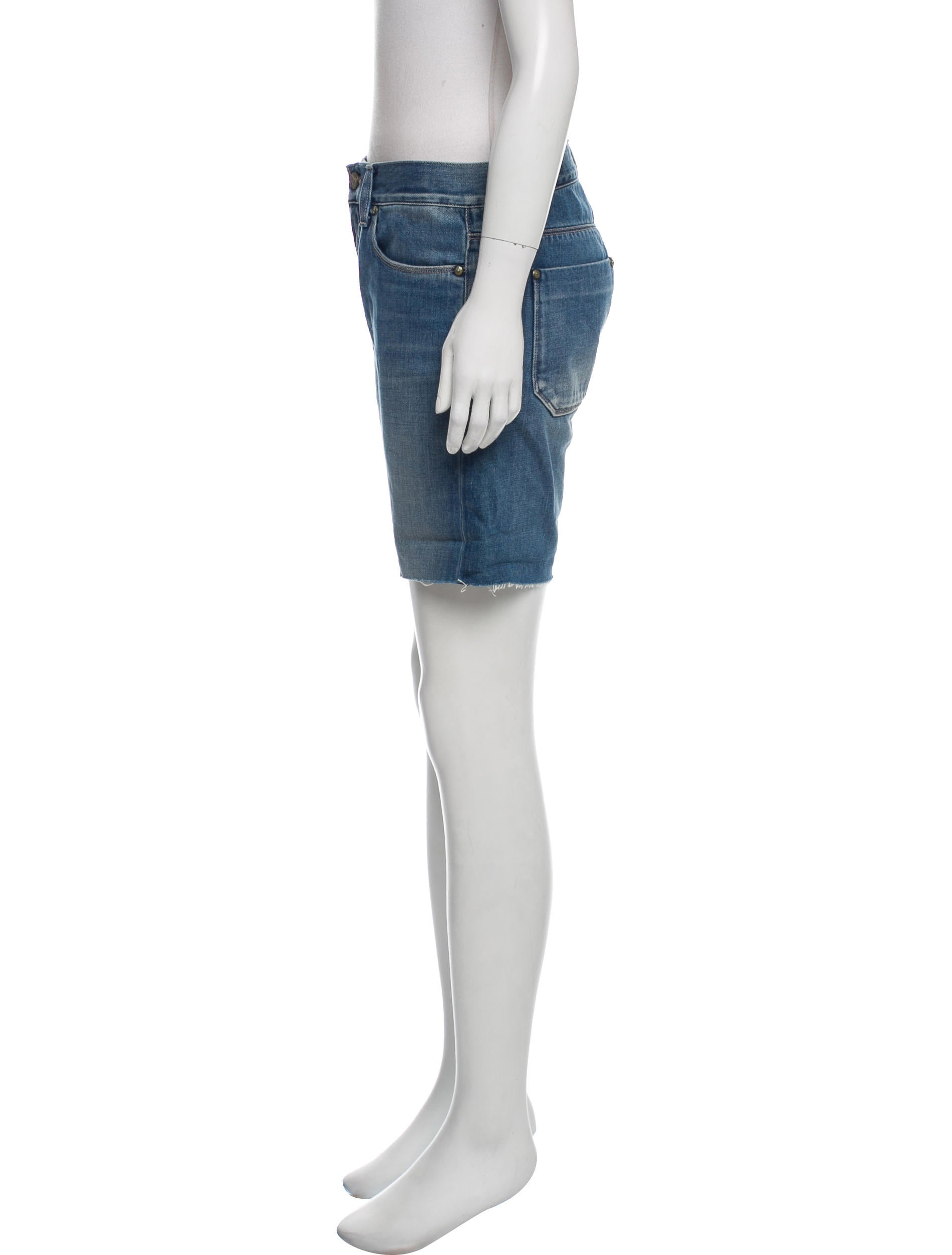 MIH Jeans Denim Knee-Length Shorts w/ Tags - Clothing ...