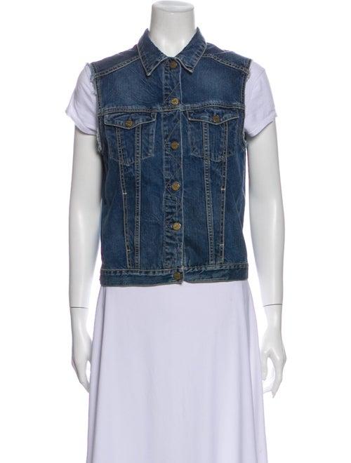 MIH Jeans Vest Blue