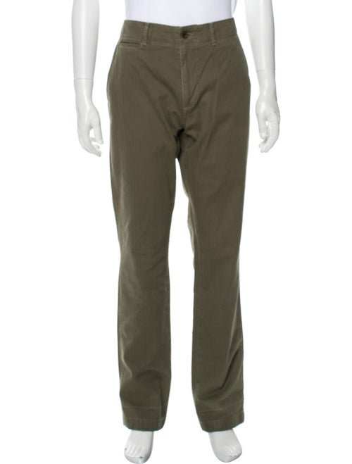 Alex Mill Military Trouser Pants Green