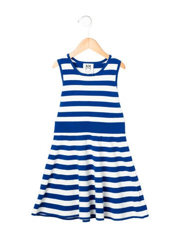 Milly Minis Girls' Striped Knit Dress None