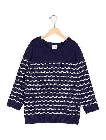 Milly Minis Girls' Striped Rib Knit Sweater w/ Tags None
