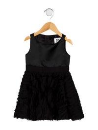 Girls' Embellished A-Line Dress w/ Tags image 1