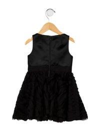 Girls' Embellished A-Line Dress w/ Tags image 2
