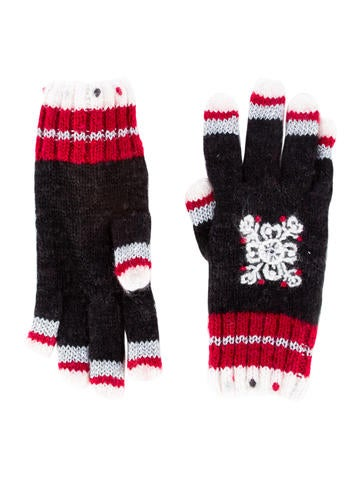 Catimini Girls' Knit Gloves None