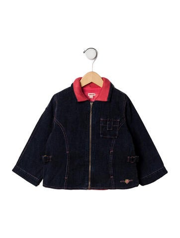 Catimini Girls' Denim Jacket None