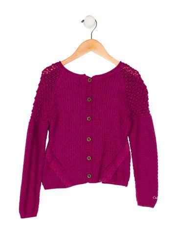 Catimini Girls' Knit Appliqué-Accented Top None