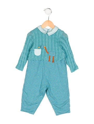 Catimini Boys' Knit All-In-One w/ Tags None