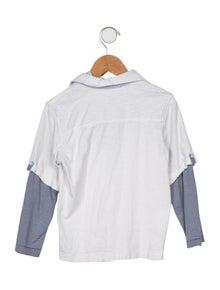 Catimini Boys' Collared Long Sleeve Shirt