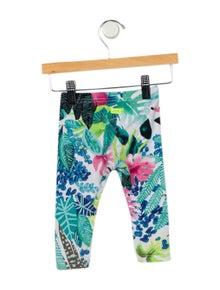 Catimini Girls' Printed Knit Leggings
