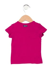 Catimini Girls' Short Sleeve Knit op