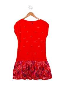 Catimini Girls' Embellished Sleeveless Dress