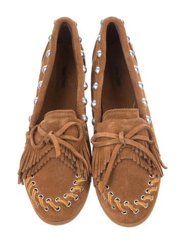 Suede Moccasin Flats