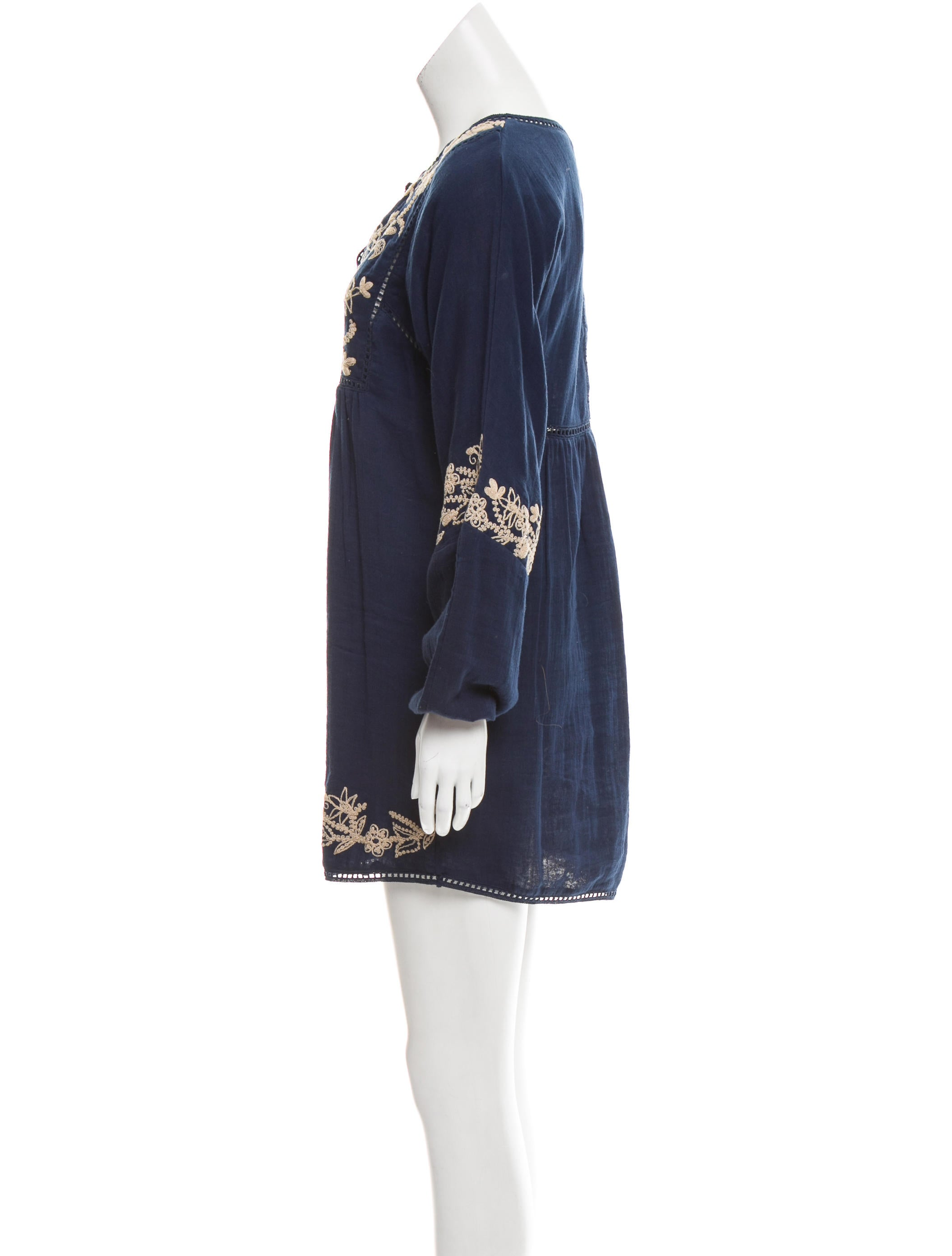 Misa los angeles embroidered mini dress w tags clothing