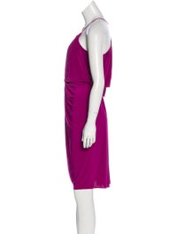 Sleeveless Knee-Length Dress image 2