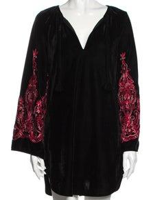 MISA Los Angeles Patterned Mini Dress w/ Tags