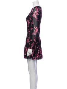 MISA Los Angeles Floral Print Mini Dress w/ Tags