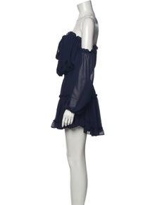 MISA Los Angeles Strapless Mini Dress w/ Tags