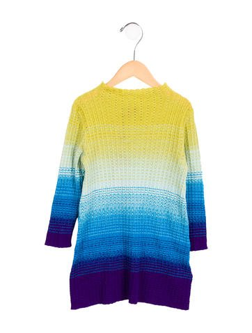 Missoni Kids Girls' Ombré Wool Dress w/ Tags None