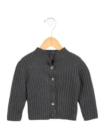 Makie Girls' Alpaca Button-Up Cardigan None