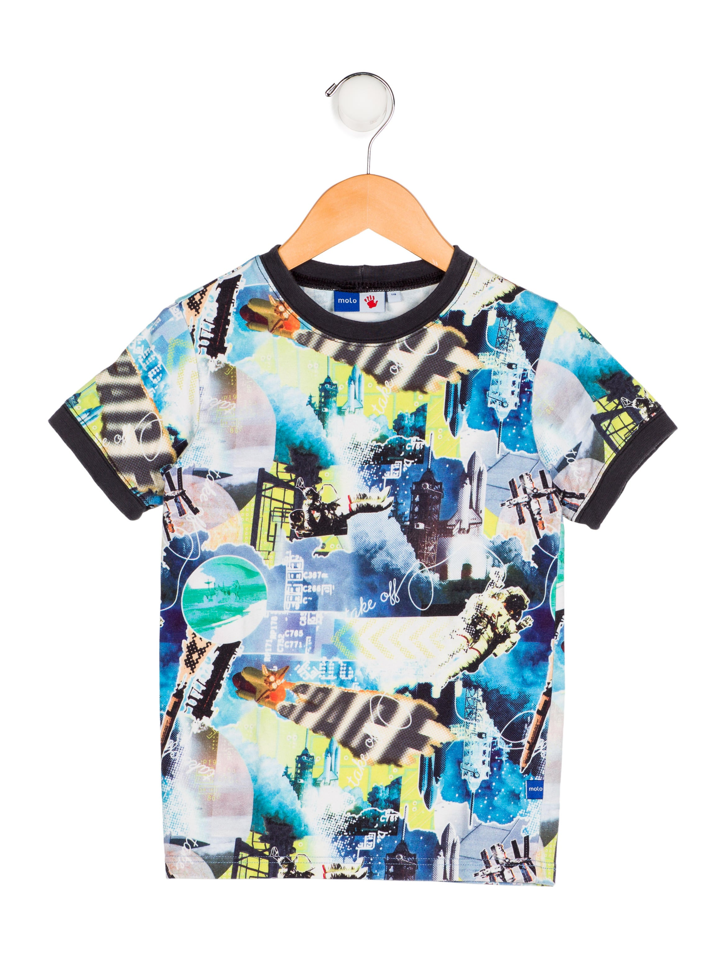 63a62dbd7 Molo Boys' Printed Knit Shirt - Boys - WMLLO20083 | The RealReal