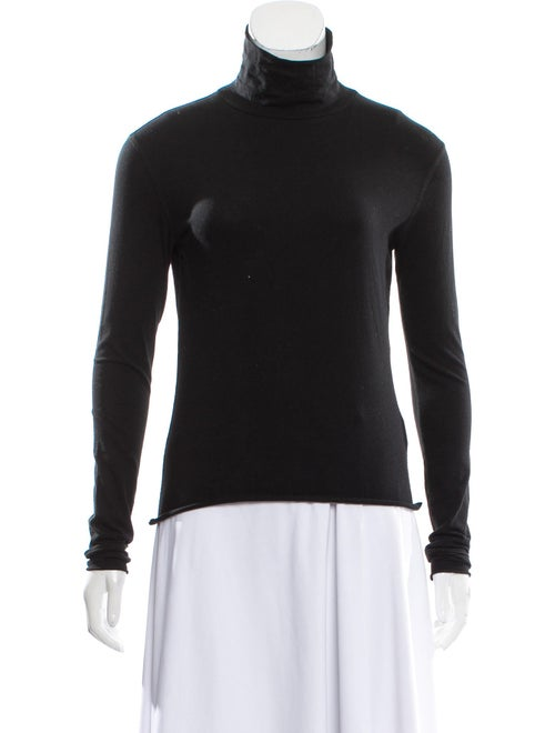 Simon Miller Turtleneck Long Sleeve Sweatshirt w/