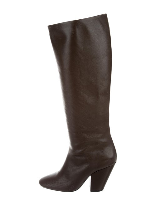 Simon Miller Leather Knee-High Boots brown