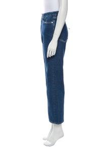 Simon Miller High-Rise Straight Leg Jeans w/ Tags