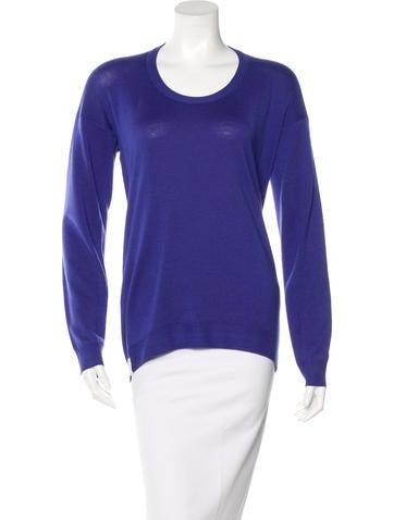MM6 by Maison Martin Margiela Wool Long Sleeve Sweater None