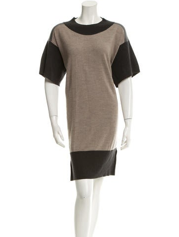 MM6 by Maison Martin Margiela Wool Sweater Dress None