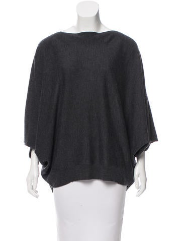 MM6 by Maison Martin Margiela Oversize Rib Knit Top None