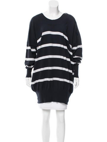 MM6 by Maison Martin Margiela Striped Oversize Sweater w/ Tags None