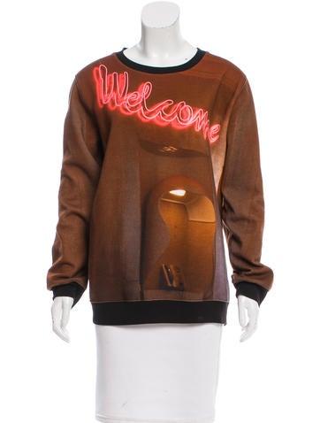 Screenprint Long Sleeve Sweatshirt
