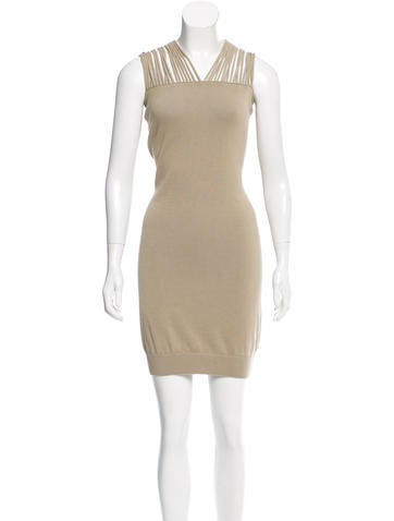 MM6 by Maison Martin Margiela Knit Mini Dress None
