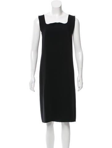 MM6 by Maison Martin Margiela Sleeveless Midi Dress None