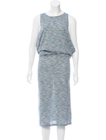 MM6 by Maison Martin Margiela Knit Cold-Shoulder Dress None