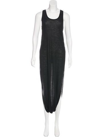 MM6 by Maison Martin Margiela Wool-Blend Maxi Dress None