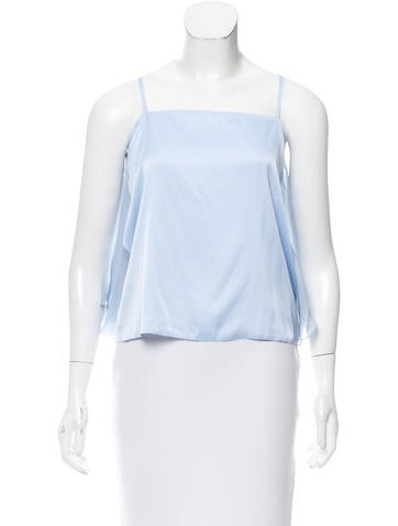 MM6 by Maison Martin Margiela Draped Sleeveless Top None