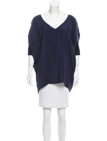 MM6 by Maison Martin Margiela Oversize Dolman Sleeve Top None
