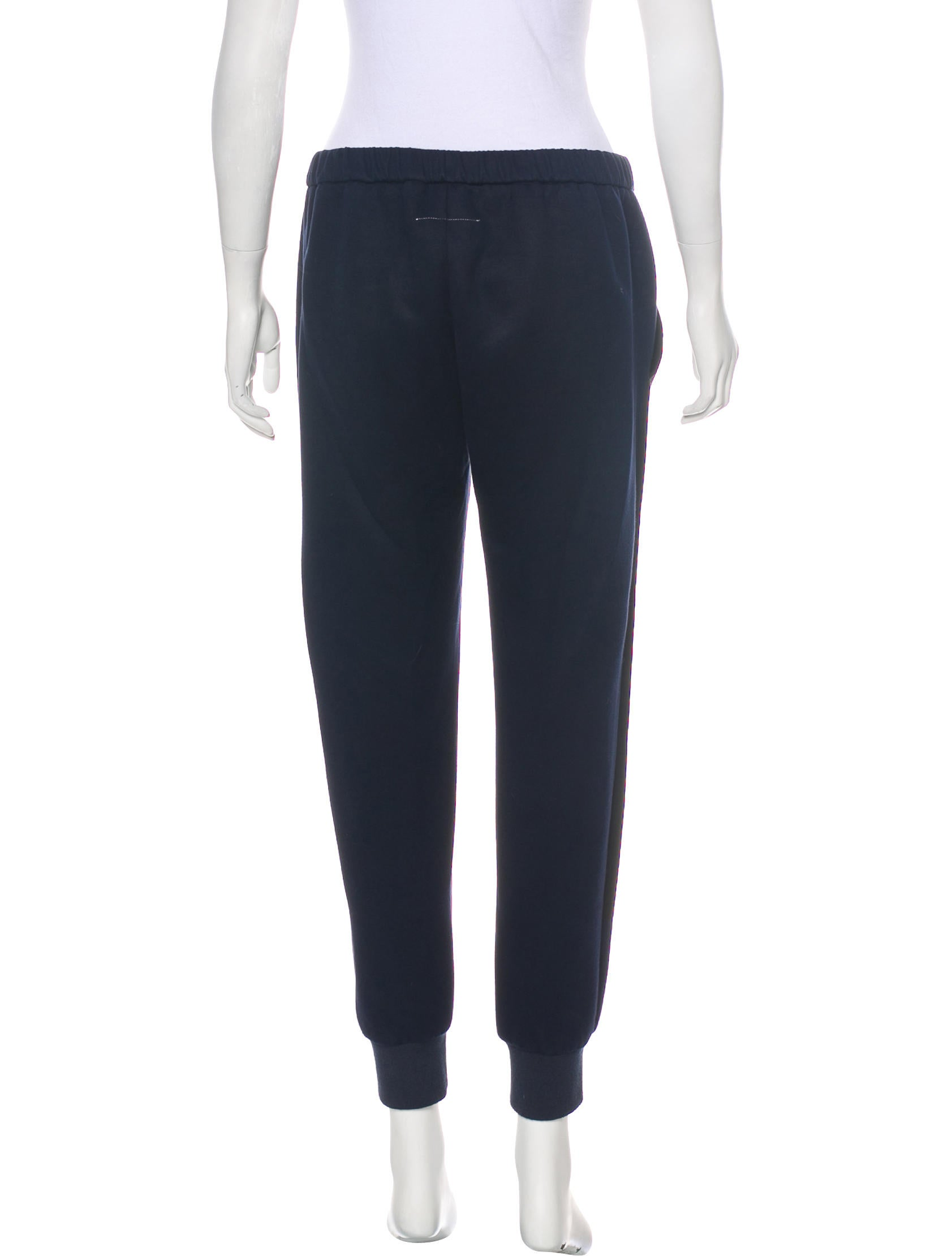 Mm6 by maison martin margiela high rise jogger pants for 10 moulmein rise la maison